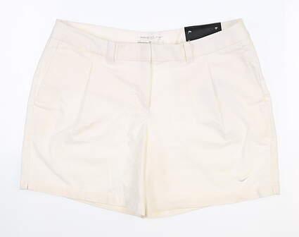 New Womens Nike Shorts 8 White MSRP $80 725763