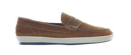 New Mens Golf Shoe Martin Dingman Thurston Penny Medium 10 Brown MSRP $220 530365M