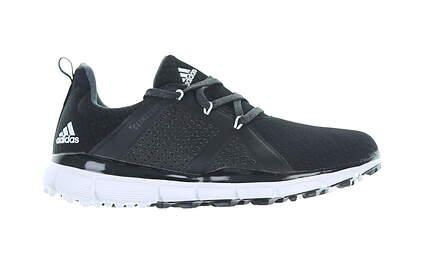 New Womens Golf Shoe Adidas ClimaCool Knit Medium 6 Black MSRP $110 G26626