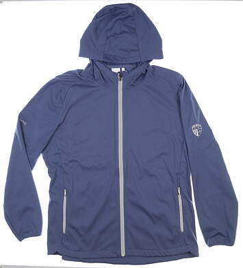 New W/ Logo Womens Ping Jacket X-Large XL Blue MSRP $135 P93434