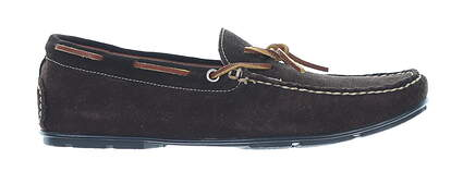 New Mens Shoe Handcrafted Classics Suede Loafer 9 Medium Brown MSRP $175 171-04