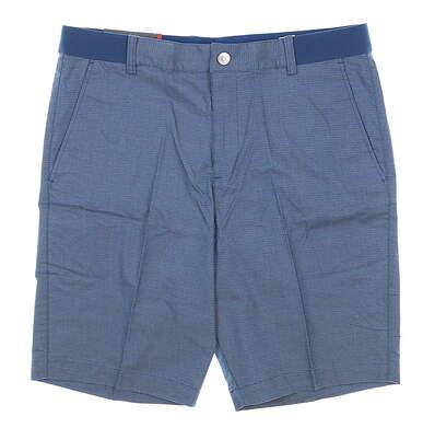 New Mens Puma Riviera Shorts 32 Blue MSRP $70 595127