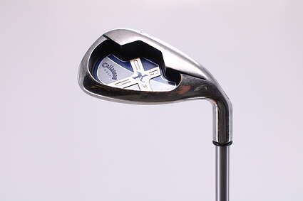 Callaway X-18 Single Iron Pitching Wedge PW Stock Graphite Shaft Graphite Regular Right Handed 35.5in