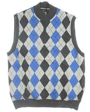 New W/ Logo Mens Greg Norman Sweater Vest XX-Large XXL Multi MSRP $100