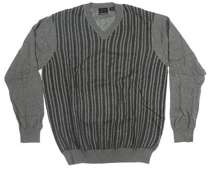 New Mens Greg Norman Sweater X-Large XL Gray MSRP $100
