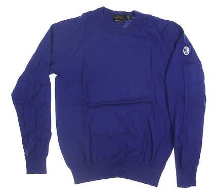 New W/ Logo Mens Greg Norman Sweater Medium M Purple MSRP $70