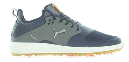 New Mens Golf Shoe Puma IGNITE PWRADAPT Caged Medium 9.5 Blue MSRP $150 192223 04