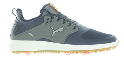 New Mens Golf Shoe Puma IGNITE PWRADAPT Caged Medium 12.5 Blue MSRP $150 192223 04
