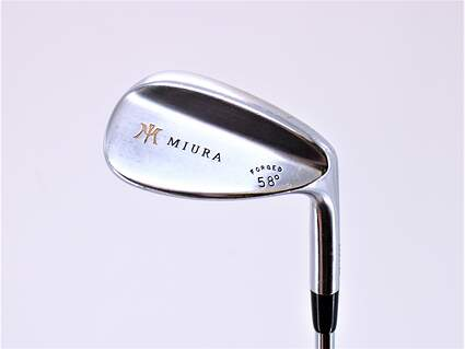 Miura Wedge Series Wedge Lob LW 58° Stock Steel Shaft Steel Stiff Right Handed 35.0in