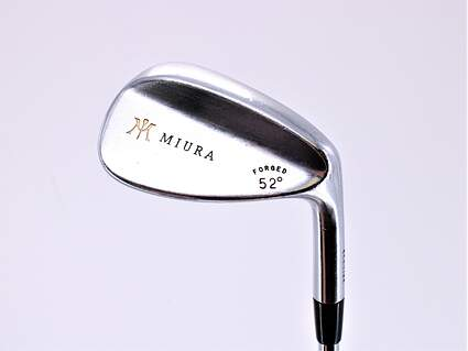 Miura Wedge Series Wedge Gap GW 52° Stock Steel Shaft Steel Stiff Right Handed 35.25in