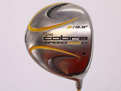 Cobra Speed Pro D Driver 9.5° Aldila VS Proto 65 Graphite Stiff Right Handed 45.0in