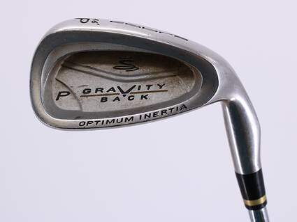 Cobra Gravity Back Single Iron Pitching Wedge PW Stock Steel Shaft Steel Stiff Right Handed 35.25in