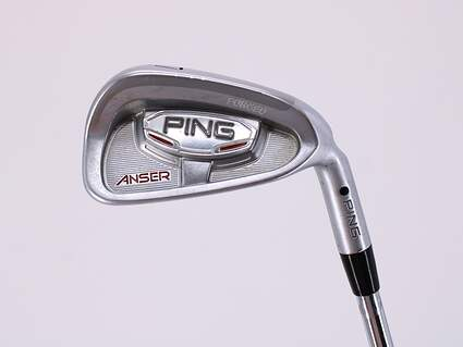 Ping Anser Forged 2010 Single Iron 7 Iron Project X 5.5 Graphite Stiff Right Handed Black Dot 36.75in
