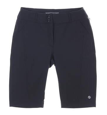 New Womens Lija Golf Shorts 2 Black MSRP $120 18A-5334G2