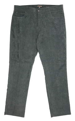New Mens Peter Millar Corduroy Pants 38 x32 Green MSRP $145 MF16EB20FB