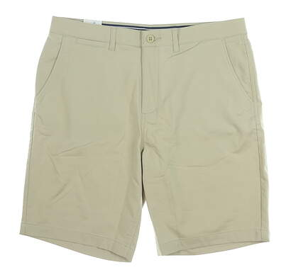 New Mens Johnnie-O Mulligan Golf Shorts 40 Khaki MSRP $85 JMSH1070