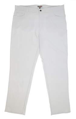 New Mens Peter Millar Golf Pants 40 x32 Gray MSRP $145 MF19EB66FB