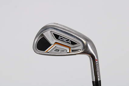 Adams Idea A7 Single Iron Pitching Wedge PW True Temper Player Lite Steel Stiff Right Handed 35.75in