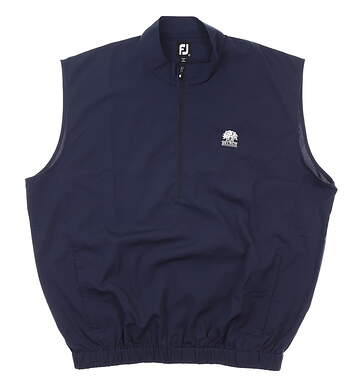 New W/ Logo Mens Footjoy Performance Windshirt X-Large Navy Blue MSRP $100 23522