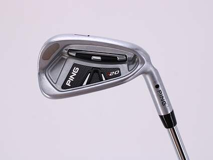 Ping I20 Single Iron 7 Iron Ping CFS Steel Stiff Right Handed Black Dot 36.75in