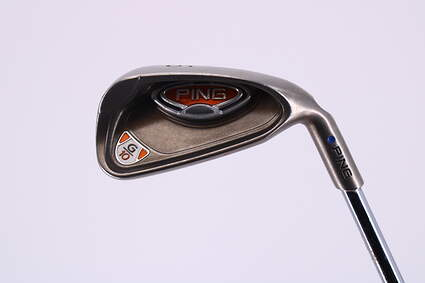 Ping G10 Single Iron 6 Iron Ping AWT Steel Regular Right Handed Blue Dot 37.25in