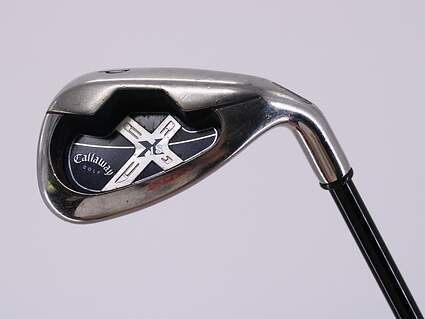 Callaway X-18 Single Iron Pitching Wedge PW Callaway Stock Graphite Graphite Senior Right Handed 35.5in