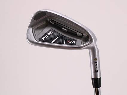 Ping I20 Single Iron 7 Iron Nippon NS Pro 850GH Steel Regular Right Handed Yellow Dot 36.5in