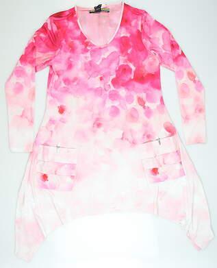 New W/ Logo Womens Jamie Sadock Dress Small S Pink MSRP $145