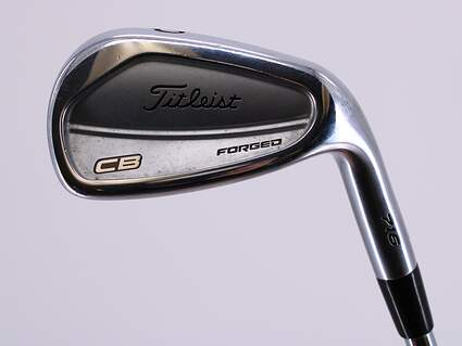 Titleist 716 CB Single Iron Pitching Wedge PW 45° Dynamic Gold AMT X100 Steel X-Stiff Right Handed 36.5in