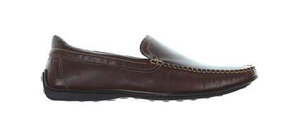 New Mens Shoe Oxford Loafer Medium 10.5 Brown MSRP $195