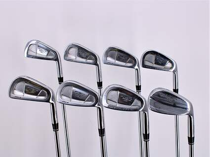 Mizuno T-Zoid Pro II Forged Iron Set 3-PW Royal Precision Rifle Airlite Steel Stiff Right Handed 38.25in