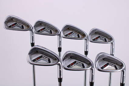 Ping I25 Iron Set 4-PW Ping CFS Steel Stiff Right Handed White Dot 38.0in