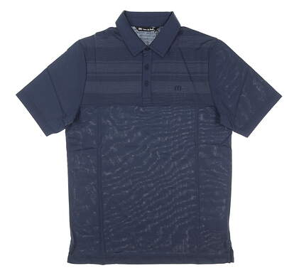 New Mens Travis Mathew Sweet Teets Golf Polo XX-Large XXL Mood Indigo MSRP $85 1MR156