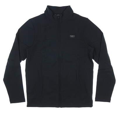 New Mens Travis Mathew Koozie Jacket Large L Black MSRP $125 1MO424