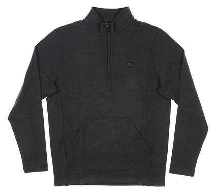 New Mens Travis Mathew Thats the One 1/2 Zip Pullover Medium M Gray MSRP $150 1MR241