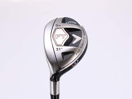 Callaway 2008 FT Hybrid Hybrid 3 Hybrid 21° Callaway Fujikura Fit-On M HYB Graphite Ladies Left Handed 39.75in
