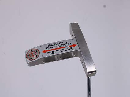 Titleist Scotty Cameron Detour Putter Slight Arc Steel Right Handed 33.5in
