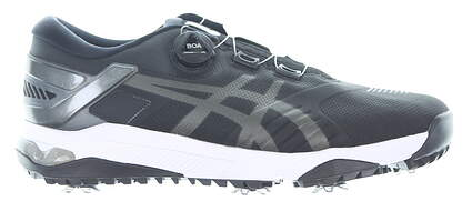 New Mens Golf Shoe Asics GEL-COURSE DUO BOA Medium 9.5 Black MSRP $180 1111A073-001
