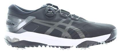 New Mens Golf Shoe Asics GEL-COURSE DUO BOA Medium 11.5 Black MSRP $180 1111A073-001