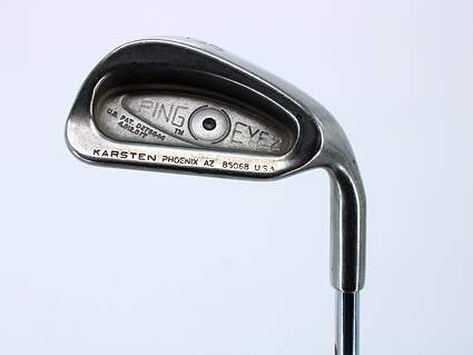 Ping Eye 2 Single Iron 8 Iron Ping ZZ Lite Steel Stiff Right Handed Black Dot 36.25in