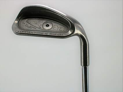 Ping Eye 2 Single Iron 9 Iron Ping ZZ Lite Steel Stiff Right Handed Black Dot 35.75in