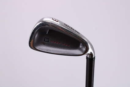 Wilson Staff Deep Red Single Iron 3 Iron Stock Graphite Shaft Graphite Regular Right Handed 39.0in