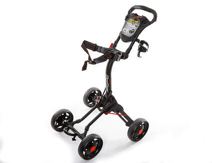 Brand New Bag Boy Quad Junior Push and Pull Cart Black/Red Ships Today!