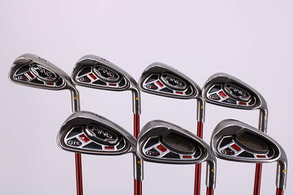 Ping G15 Iron Set 5-PW GW Ping TFC 149I Graphite Regular Right Handed Yellow Dot 37.75in
