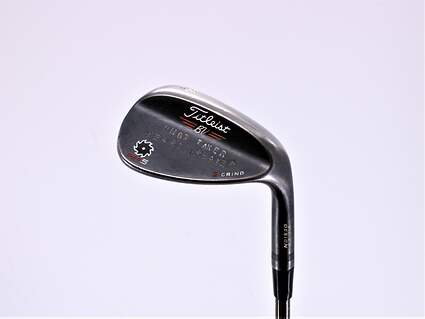 Titleist Vokey SM5 Raw Black Wedge Sand SW 56° 10 Deg Bounce S Grind FST KBS Steel Wedge Flex Right Handed 35.0in