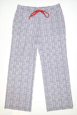 New Womens Fairway & Greene Sydnee Lounge Pants Large L Purple MSRP $88 I12289