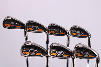 Mizuno JPX EZ Forged Iron Set 5-PW GW KBS Tour 130 Steel X-Stiff Right Handed 38.75in