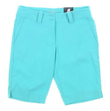 New Womens Nike Golf Shorts 4 Blue MSRP $70 618148