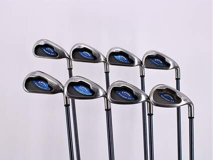 Callaway X-16 Iron Set 3-PW Callaway System CW 85 Graphite Stiff Right Handed 38.0in