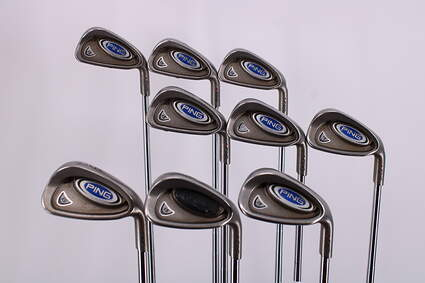 Ping i5 Iron Set 3-PW GW Ping Z-Z65 Steel Stiff Right Handed Red dot 37.75in